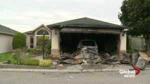Okanagan woman escapes burning West Kelowna home in only her pajamas