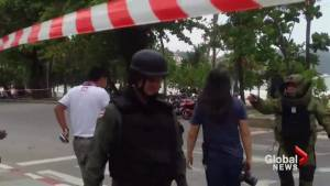 Coordinated explosions rock several cities in Thailand