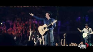 Garth Brooks kicks off his first of seven shows at the Saddledome