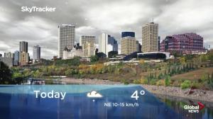 Edmonton early morning weather forecast: Friday, September 21, 2018
