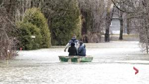 Quebec floods in photos