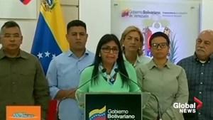 Venezuelan VP to Pence: 'Yankee, go home'