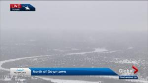 Snowfall warning for Edmonton area