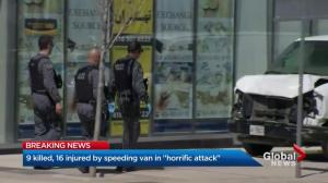 Multiple dead following Toronto van attack
