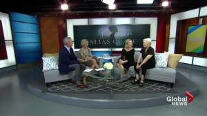 "Stars of the new mini-series ""Alias Grace"" visit The Morning Show"