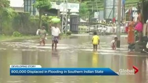 Floods ravage India's Kerala state, killing more than 300