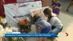 Heartbroken Fredericton begins to heal after shooting