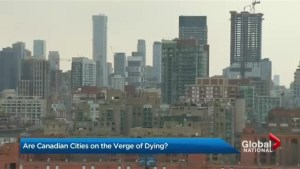 Are Canadian communities dwindling as cities expand upward?