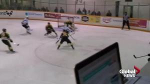 Saskatchewan Huskies down Regina Cougars 6-0