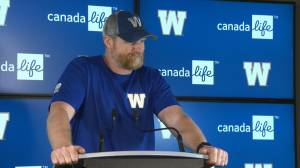RAW: Blue Bombers Mike O'Shea Media Briefing – July 16