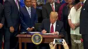 President Trump signs funding bill to bring more care to veterans
