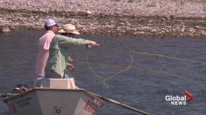 Dry conditions in Alberta concerning for those making a living on land and water