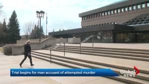 Lethbridge man begins trial for attempted murder