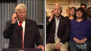 Alec Baldwin's Trump instructs Pence to ditch NFL game, gay wedding in 'SNL' cold open