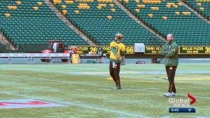 Edmonton Eskimos player awaits news from North Carolina after Hurricane Florence rips through