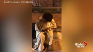 Baltimore man records hospital seemingly 'dumping' patient at bus stop, in the cold, in a hospital gown