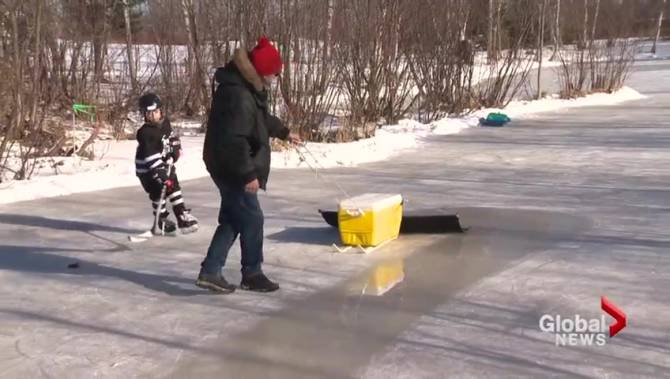 New Brunswick grandfather creates do-it-yourself \'Zamboni ...