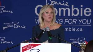 Ontario Municipal Election: Bonnie Crombie full victory speech (08:09)