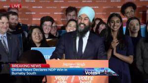 'We can transform into a green economy'  NDP leader Jagmeet Singh