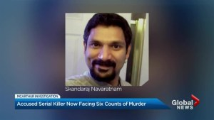 Alleged serial killer Bruce McArthur charged in death of Skandaraj Navaratnam