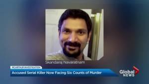 Alleged serial killer Bruce McArthur charged in death of Skandaraj Navaratnam