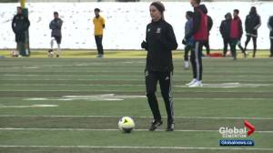 Alberta Pandas soccer player gets set for Canada West playoffs after overcoming serious injury