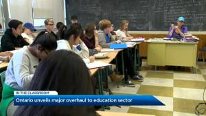 Big changes are coming to Ontario classrooms
