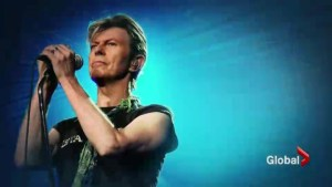 Music icon David Bowie remembered around the world