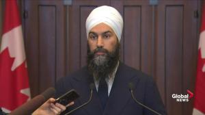 Jagmeet Singh renews calls for independent investigation on SNC-Lavalin affair