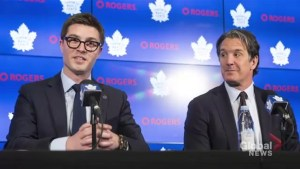 Toronto Maple Leafs promote 32-year-old Kyle Dubas to club GM
