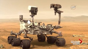NASA's rover finds more evidence that life on Mars may be possible