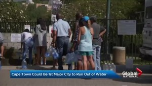 Cape Town facing water shortage