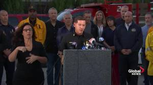 Officials commend police for 'heroic actions' as fire rages in southern California