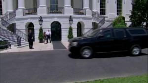 North Korean envoy arrives at White House to deliver Kim Jong Un letter