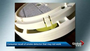 Health Canada issues recall for 40,000 Kidde smoke detectors