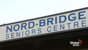 Nord-Bridge looking for equitable funding of the  two seniors centres in Lethbridge.