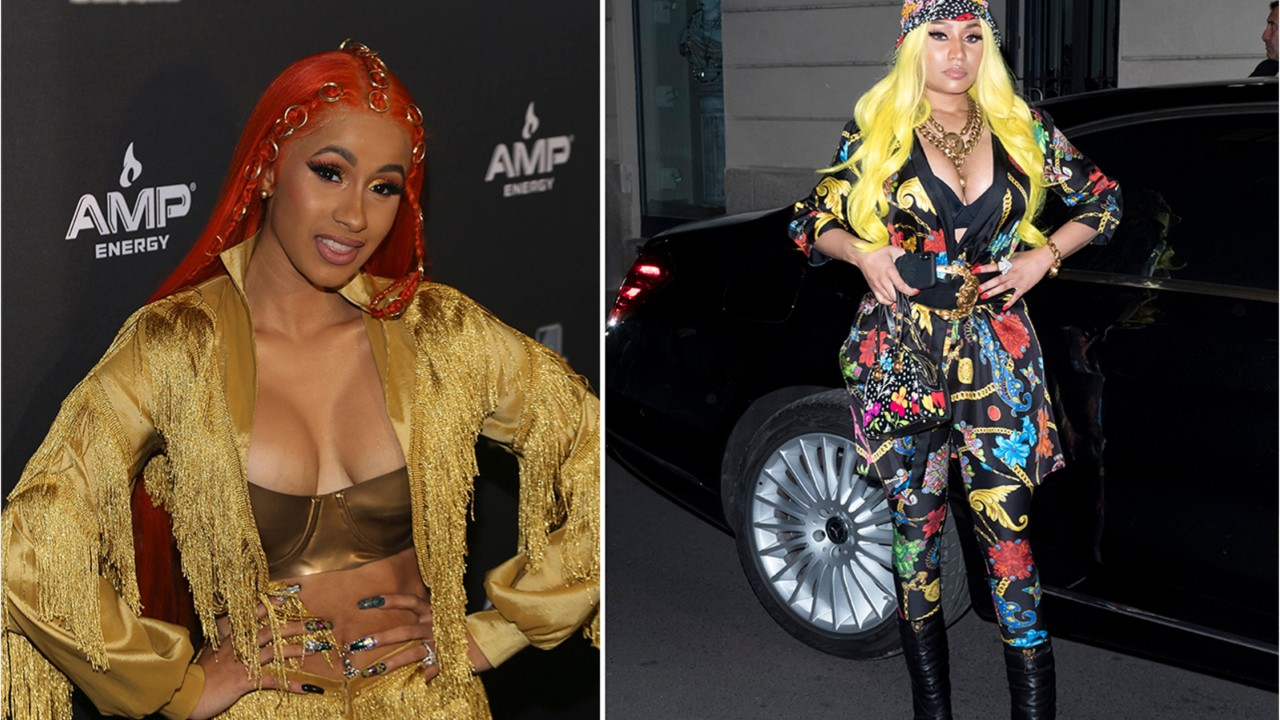 Cardi B and Nicki Minaj call truce over ongoing feud