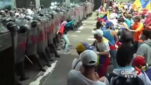 Deadly protests erupt in Venezuela in effort to oust president