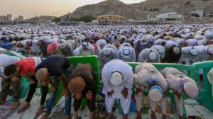 Eid al-Fitr: Celebrations for the Muslim holiday begin around the world