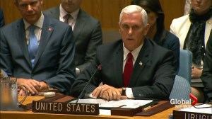 Pence says Trump administration urges 'strong and swift' action on ending Rohingya crisis