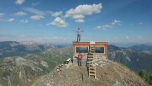 Restored fire lookout could be removed by province