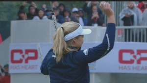 Brooke Henderson makes golf history