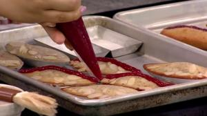 Saturday Chef: Rhubarb Cherry Financier