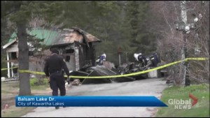 Fire engulfs garage on Balsam Lake on Sunday night