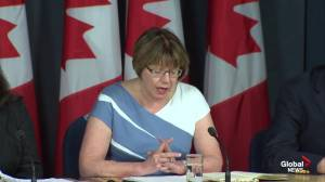 Anne McLellan discusses goals and objectives of federal marijuana task force
