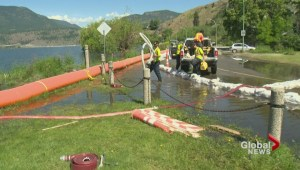 Okanagan Lake now expected to peak at a record 343.5 metres, half a metre more than forecasted just a few weeks ago