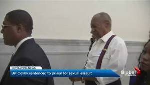 Bill Cosby sentenced 3-10 years in prison for sexual assault on Toronto woman