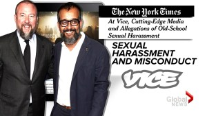 Vice Media apologizes over 'boys club' culture of inappropriate behaviour