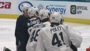 Sights and sounds from Day 1 of Edmonton Oilers training camp