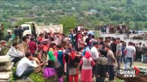 At least 30 dead as bus plunges of India mountain road